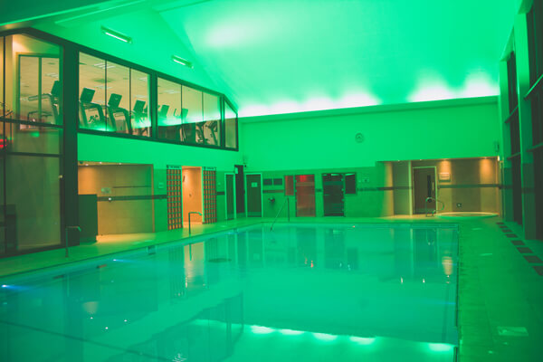 Pool green lit