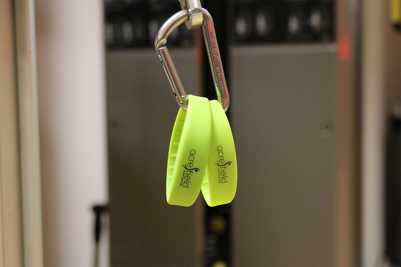 No locker keys needed