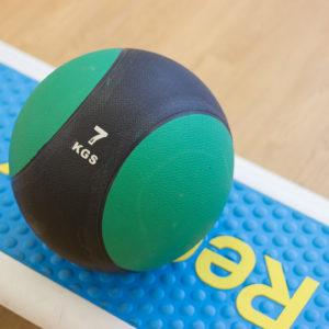 Green weight ball