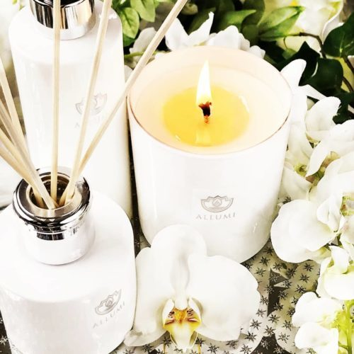 Luxury Allumi candles now available