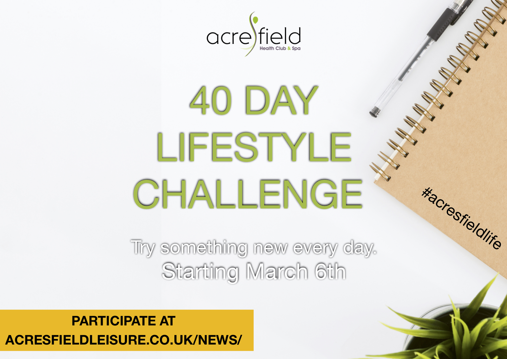 40 Day Lifestyle Challenge